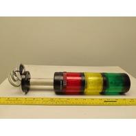 Allen Bradley 855TI-B24TL3 LED Stack Light 70mm 24VDC Green Amber Red