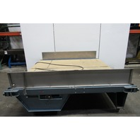 "93"" Slide Bed Belt Conveyor (2) 41"" Wide Belt 13 FPM 208-230/460V"