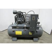 Trexler Model 340 7-1/2Hp 2 Stage Air Compressor 120 Gallon 208-230/460V 25 CFM