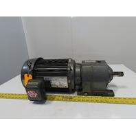 Browning CBN22023B3MT182T3 Inline Gear Motor 22.4:1 Ratio 208-230/460V 3Ph
