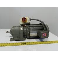 Browning 0cbn20202SB622MT1803 Inline Gear Motor 22:1 Ratio 208-230/460V 3Ph