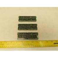 Fanuc A20B-2900-0500/04B Memory Module Daughter Board Lot of 3