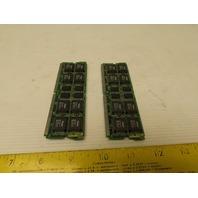 Fanuc A20B-2900-0480/02A Memory Module Daughter Board Lot of 2