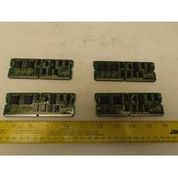 Fanuc A20B-2900-0430/04C Memory Module Daughter Board Lot of 4