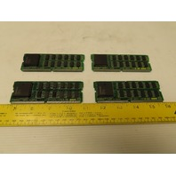 Fanuc A20B-2900-0450/03B Memory Module Daughter Board Lot of 4