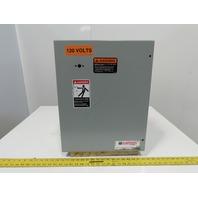 "Hoffman A-20C16BLP Wall Mount Electrical Enclosure W/Back plate 20""x16""x9"" JIC"