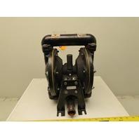 """ARO 6661003C9C 1"""" Aluminum Air Double Diaphragm Pump 35 GPM 150°F"""
