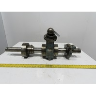 Walsh Model 28 28 Ton Mechanical Power Punch Press Crank Shaft Assembly