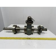 Walsh Model 28 28 Ton Mechanical Power Punch Press Crank Shaft Assembly