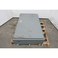 "Hinged Wall Mount 48""x30""x10"" Electrical Enclosure JIC W/Back Plate"