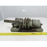 Walsh Model 28 28 Ton OBI Punch Press Incline Tilt Mechanism Screw