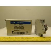 Eaton Cutler Hammer WMS1D13 13AMP Single Pole Circuit Breaker DIN Rail Mount
