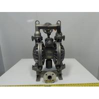 "Yamada NDP-40BAN Aluminum 1-1/2""NPT or Flange Air Double Diaphragm Pump"