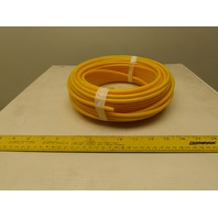""".170"""" ID x .250""""OD 1/4"""" Yellow Poly Airline Tube Air Hose Tubing .040"""" Wall 100'"""