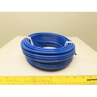 """.170"""" ID x .250""""OD 1/4"""" Blue Poly Airline Tube Air Hose Tubing .040"""" Wall 100'"""