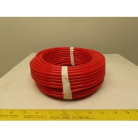 """.170"""" ID x .250""""OD 1/4"""" Red Poly Airline Tube Air Hose Tubing .040"""" Wall 100'"""