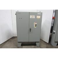 """SCE 606825 58""""x48""""x 16"""" 72""""T Free Standing 2 Door Type 12 Electrical Enclosure"""