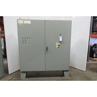 """SCE 697880 72"""" x 72"""" x 13""""  84"""" Tall 2 Door Electrical Free Standing Enclosure"""