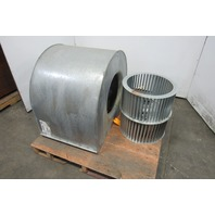 "PTM 19"" Dia x 20-1/2"" Wide FWD Curve Squirrel Cage Blower W/Housing"