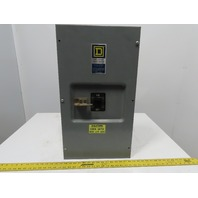 Square D LA-400-S 400A 600V Breaker Enclosure W/250V Q4L-2250 2P Circuit Breaker