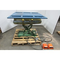 "American Scissor Lift M1000-1 Hydraulic Table 45x44"" Top 6""-36"" Lift 115V 1000lb"