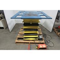 "American Scissor Lift M1000-B Hydraulic Table 45x44"" Top 7""-36"" Lift 115V 1000lb"