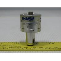 "Bimba FO-020-125-1 9/16"" Bore 1/8"" Stroke 1/4 Rod Clevis Mini Air Cylinder"