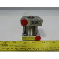 "Bimba Flat-1 1-5/8"" Bore 1"" Stroke 5/8"" Rod Double Acting Air Cylinder"