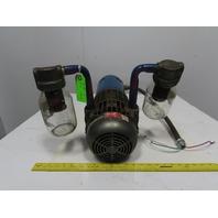 Dayton 2067-V108 Speedaire 115/230V 1Ph 17CFM 28.0 inHg 60Hz Vacuum Pump & Motor