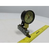 Bijur 7 Port Oil Grease Lubrication Metered Manifold  5/16-24