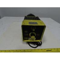 Milton Roy C141-36 20 GPH 25 PSI Chemical Grade Metering Dosing Pump 115V