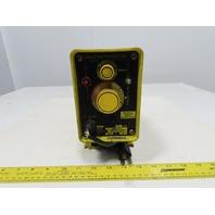 Milton Roy A101-92T 14.4 GPD 75 PSI Chemical Grade Metering Dosing Pump 115V