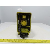 Milton Roy A101-92S 14.4 GPD 75 PSI Chemical Grade Metering Dosing Pump 115V