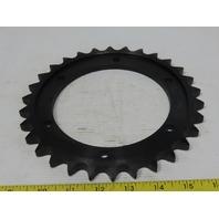 "Morse 50TP60A30K #60 Single Row Chain 30T Torque Limiter Sprocket 7.590"" OD"