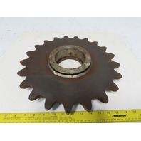 "Martin C 21 80085 14-1/2"" OD 21T #180 Roller Chain Sprocket 2082 Bushed"