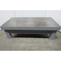 "5"" Thick Top Steel Fabrication Layout Welding Table Work Bench 81-7/8"" x 40-1/4"""