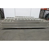 "Cooper B line 24A09-12-144 312' Straight Sections Aluminum Ladder Tray 24"" Wide"