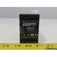 Schmersal AZR31T2 Safety Relay 24V DC DIN Rail Mount
