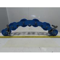 "Condux Plastic 3"" 90° Corner Cable Block Guide 6 Roller"