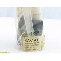 Siemens-Allis KAX1A11 1NO 1 NC Auxiliary Contact Kit Size 0 To 4