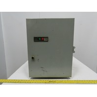General Electric CR206FI00ADMB Enclosure & Motor Starter Size 4 W/Transformer