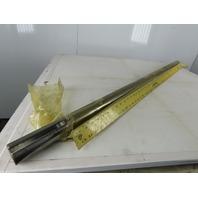 """1-15/16"""" Diameter x 57"""" Long Steel Axle/Fan Shaft W/Double 1/2"""" Key Way"""