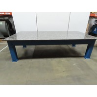"H.D. 3/4"" Thick Top Steel Fabrication Layout Welding Table Work Bench 60""x120"""