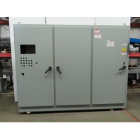 """Hoffman A90XM3EW24FTCLPG 3 Door Electrical Enclosure 90x116x24"""" 400A Disconnect"""