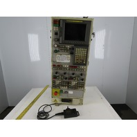 Fuji Machine ANW-30T2 Twin Spindle CNC Lathe Operator Interface Control Panel