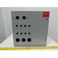"Hoffman CSD242412 Wall Mount Electrical Enclosure W/Back Plate JIC 24X24""X12"""