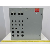 "Hoffman  CSD303012 Wall Mount Electrical Enclosure W/Back Plate JIC 30""x30""x12"""
