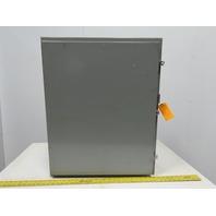 "SCE 30H2416LP Wall Mount Electrical Enclosure Box W/Back Plate JIC 30""x24""x16"""