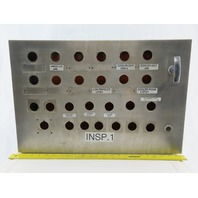 """16"""" x 24"""" x 6"""" Stainless Steel Electrical Enclosure W/Back Plate"""