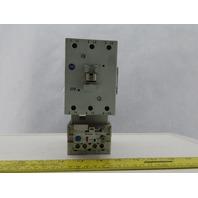 Allen Bradley 100-C72*00/B 3 Pole Contactor W/193-EA1KE/A Over Load 26-85A